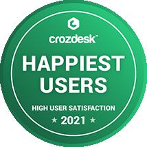 GeoHECRAS | Happiest User 2021 | Crozdesk