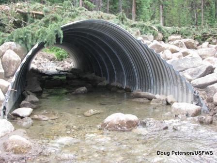 post-replacement - culvert 521