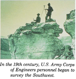 U.S. Army Corps of Engineers Surveying the Southwest
