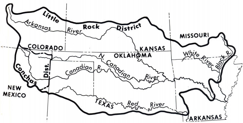 The Southwestern Division, July 1937