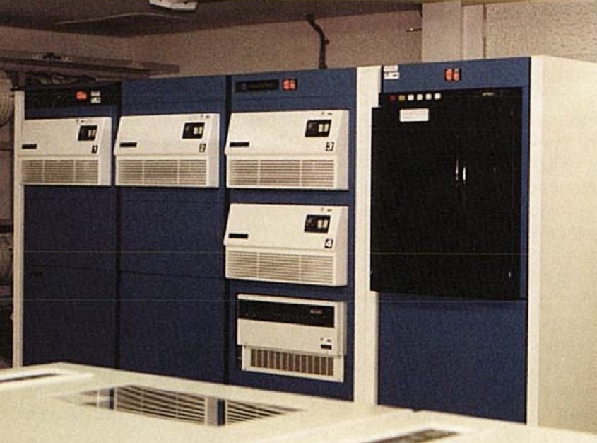 Harris H1000 computer for use at HEC and other Corps Offices (1976)