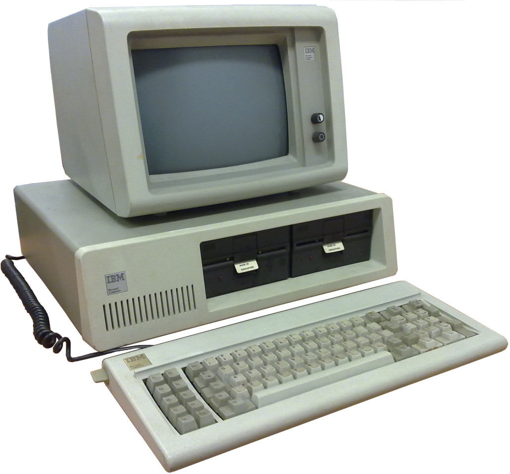 IBM Personal Computer (PC) in 1981