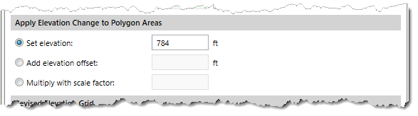 Apply Elevation Change to Polygon Areas
