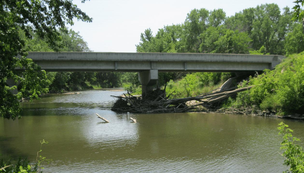 Bridge Pier Debris