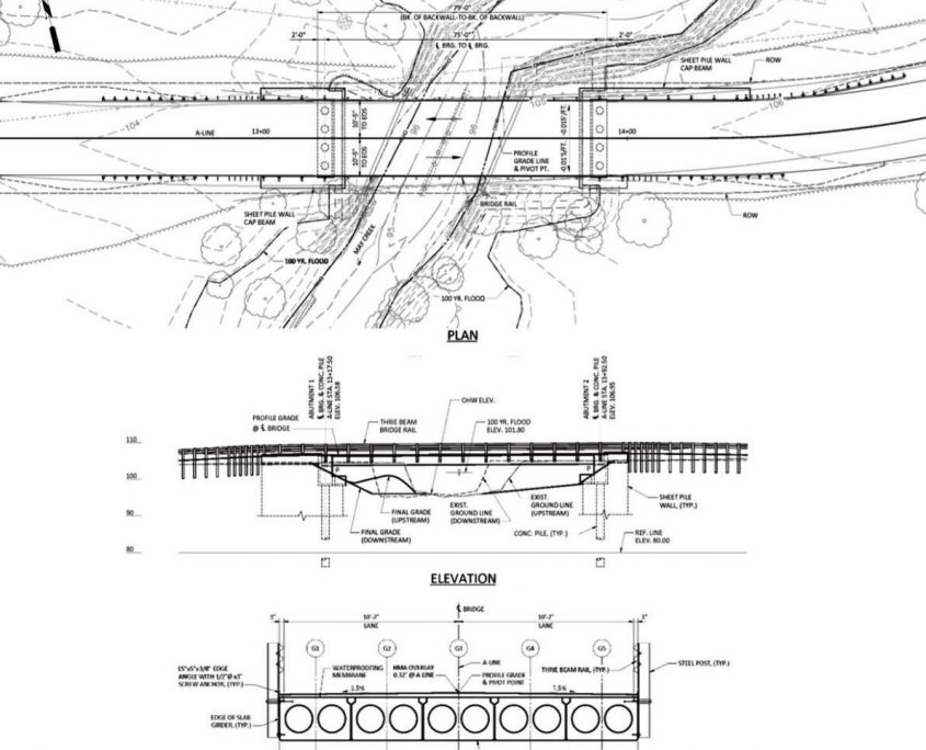 Bridge Design Drawing