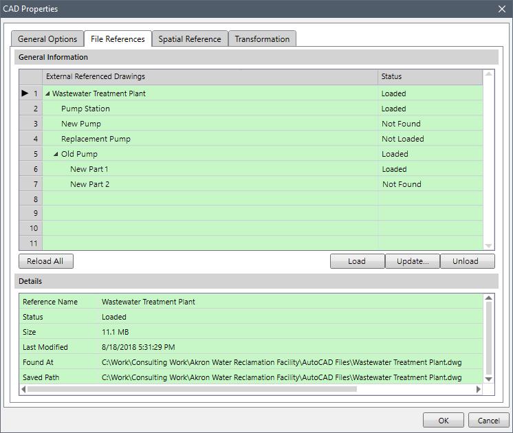 Improved CAD Drawing Layers dialog box