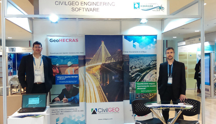 Exhibiting our advanced HEC-RAS software in Peru