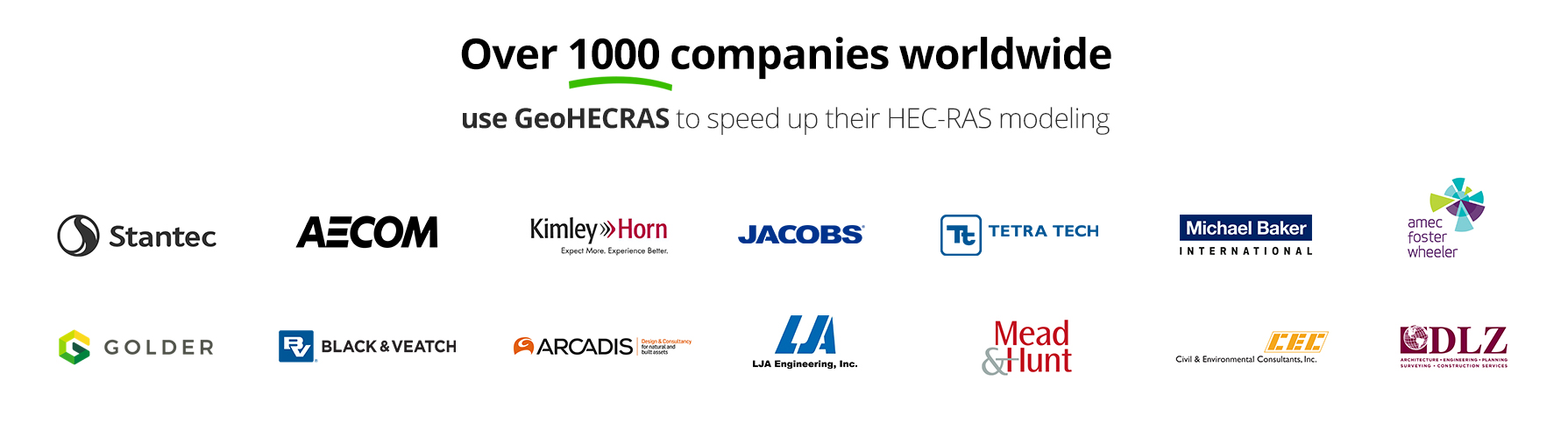 Use GeoHECRAS to speed up their HEC-RAS modeling