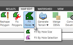 Fill Holes Command