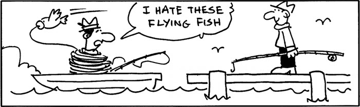 Fish Ladders vs. Flying Fish,