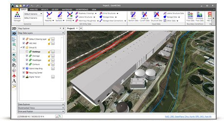 Shift seamlessly between 2D and 3D viewing perspectives to more clearly identify modeling issues and make changes.
