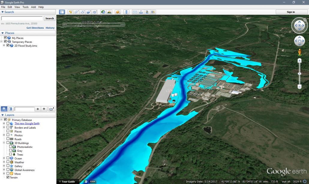 Google Earth Map Animation