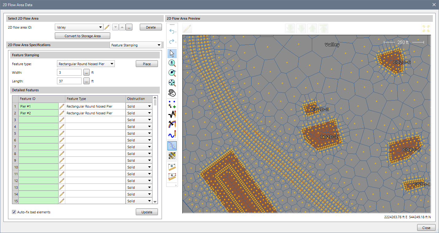 HEC-RAS 1D and 2D Flow Models
