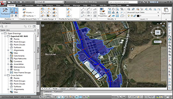 CAD and GIS Integration - HEC-RAS Software