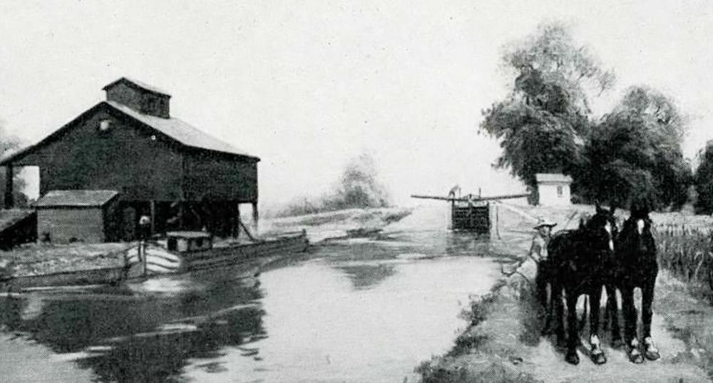 Illinois Michigan Canal