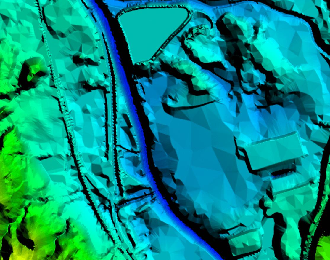 Improved Color Shading of Elevation Grids