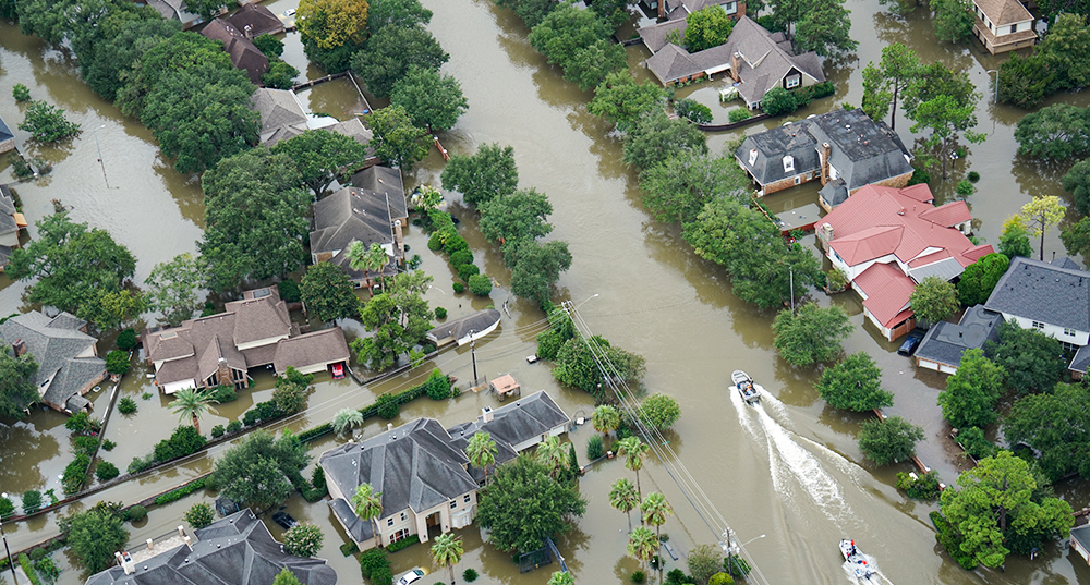 Aftermath of Hurricane Harvey impacts 2017 in Houston