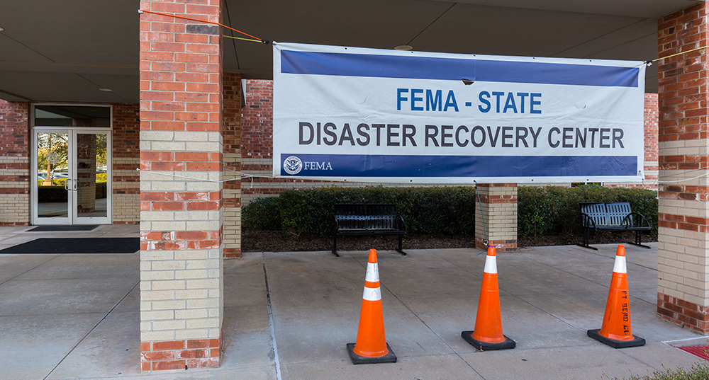Hurricane Harvey disaster recovery center