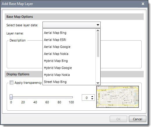 Add Base Map Layer to a HEC-RAS project