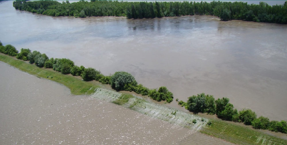 Levee Overtopping