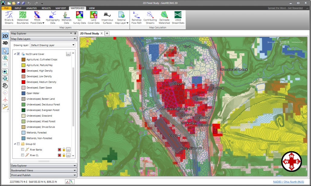 Assign Land Cover Data as Manning's Roughness