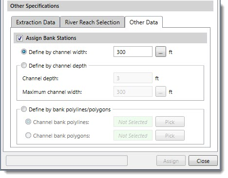 Define Channel Bank Locations