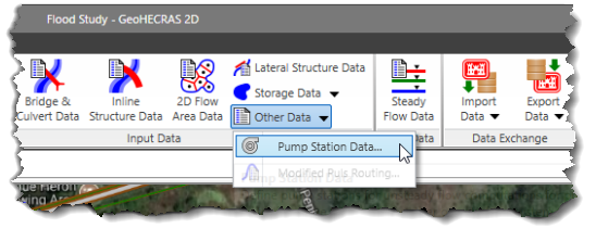 Pump Station Data command