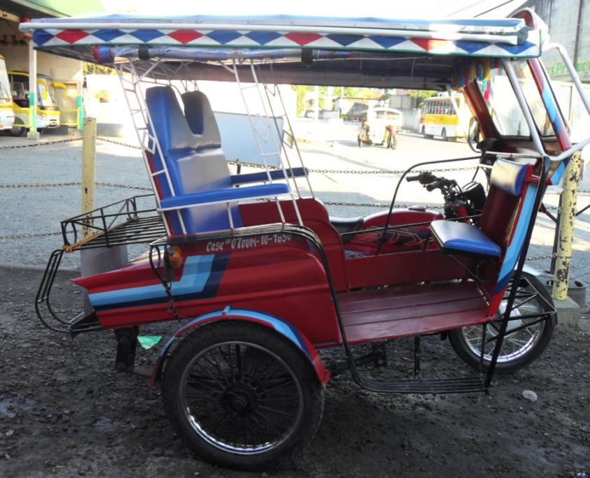 Tricycle Philippines Dumaguete