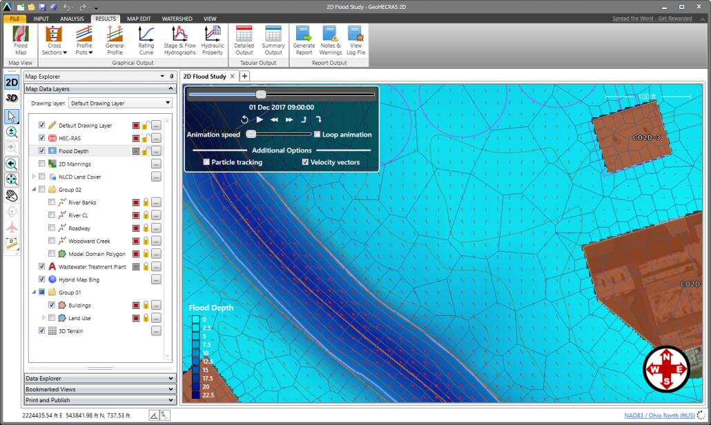 Velocity Vector Maps