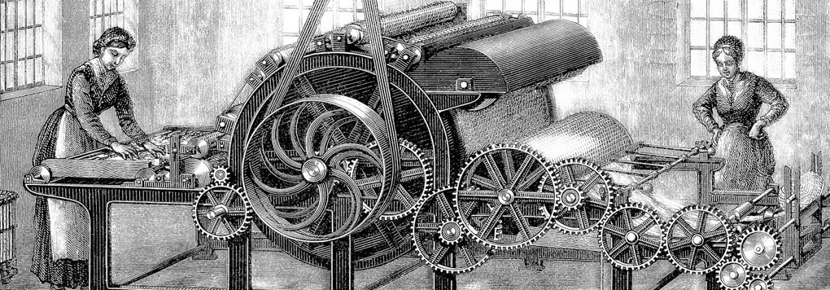 The Weaving Machine of the Industrial Revolution - CivilGEO