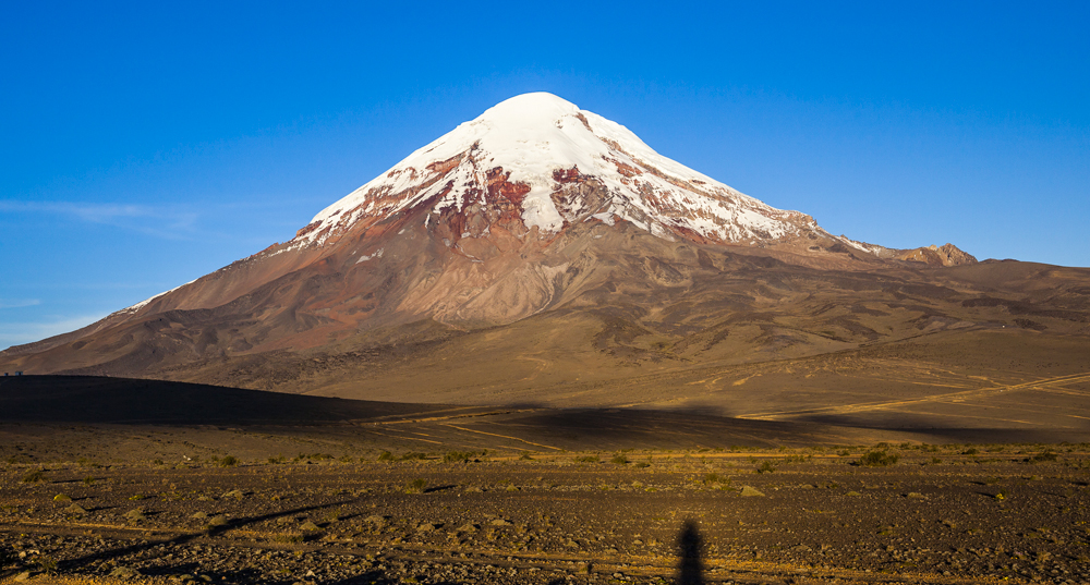 Chimborazo volcano climbed by Humboldt and Bonpland