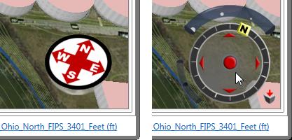 Compass Rose - 3D Navigator