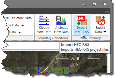 Import a HEC-RAS Models