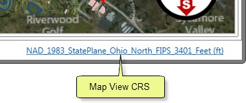 Map View CRS