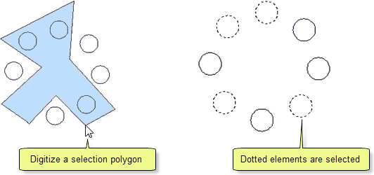 Select Polygon Window