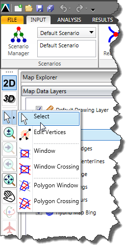 Selection Modes Toolbar