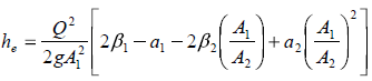 expansion loss equation