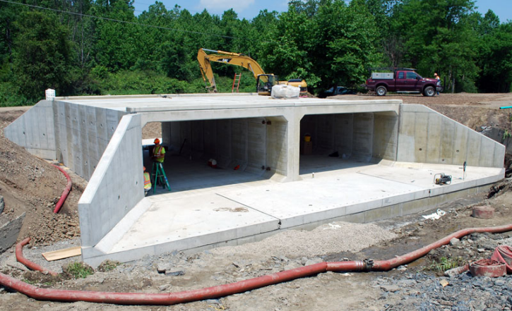 Box Culvert with Chamfer