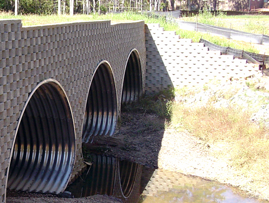 Identical culverts - Number of Identical Barrels